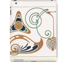 Maurice Verneuil Georges Auriol Alphonse Mucha Art Deco Nouveau Patterns Combinaisons Ornementalis 0005 iPad Case/Skin