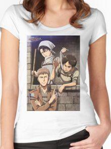 Jean Levi Eren Women's Fitted Scoop T-Shirt