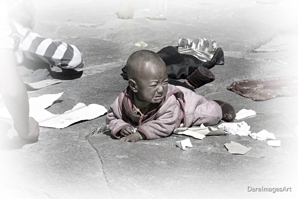 tibetan baby by DareImagesArt