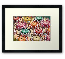 Colorful Luncheon Framed Print