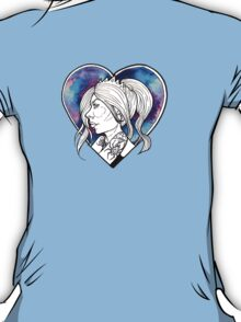 Blue-Hearted Girl T-Shirt