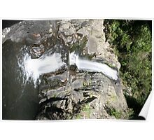 Kaiate Falls at lunchtime Poster