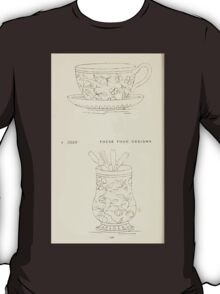 Briggs & Company Patent Transferring Papers Kate Greenaway 1886 0130 T-Shirt