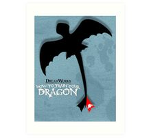How to Train your Dragon Poster Art Print
