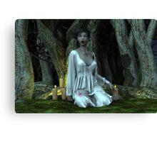 Nubile Vampire Canvas Print