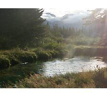 Bow River, Banff Photographic Print