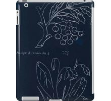 Briggs & Company Patent Transferring Papers Kate Greenaway 1886 0103 Inverted iPad Case/Skin