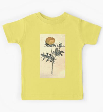 The Botanical magazine, or, Flower garden displayed by William Curtis V7 V8 1794 0056 Argemone Mexicana, Mexican Argemone or Prickly Poppy Kids Tee