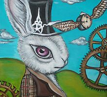 """""""Time Flies for the White Rabbit"""" by Jaz by Jaz Higgins"""