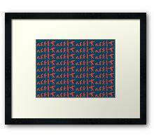 Lebowski Evolution Framed Print