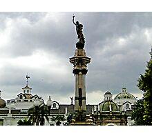 Quito, Ecuador Cathedral Photographic Print