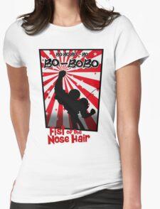Bobobo; Nose-hair technique sensei Womens Fitted T-Shirt
