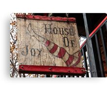 House of Joy (Jerome, AZ) Canvas Print