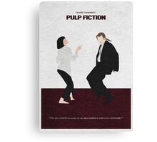 Pulp Fiction 2 Canvas Print