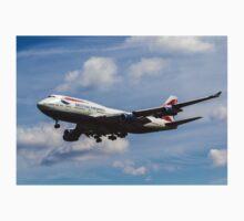 British Airways Boeing 747 Kids Tee