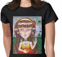 Untitled - Help Name Her For A Free Print! Womens Fitted T-Shirt
