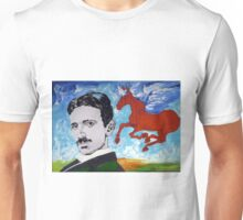 Tesla Knows Unisex T-Shirt