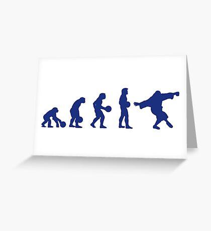 Lebowski Evolution Greeting Card