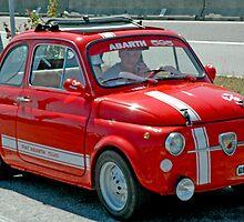 Fiat in Pisa, Italy by Danielle Girouard
