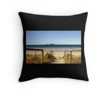 Entrance to Paradise Throw Pillow