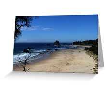 GlassHouse Rocks Beach Greeting Card