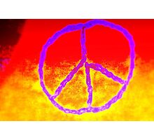 Passionate Peace Photographic Print