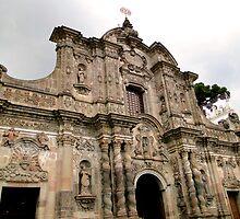 Iglesia de La Compania de Jesus, Quito, Ecuador by Al Bourassa