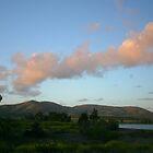 OTAY LAKES SUNSET by fsmitchellphoto