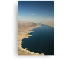 Las Vegas: Lake Mead 001 Canvas Print