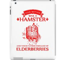 Your Mother Was A Hamster T Shirts, Stickers and Other Gifts Monty Python's iPad Case/Skin