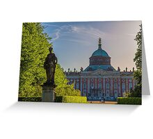 Germany. Potsdam. New Palace. Greeting Card