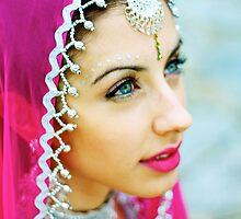 Beautiful Bollywood Dancer by Rosebuds