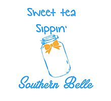 Southern Belle, Sweet tea sippin' Photographic Print