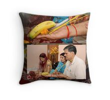Pre Wedding Ceremonies in India Throw Pillow