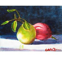 Two Pears Photographic Print