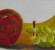 Fruit Trio by Estelle O'Brien