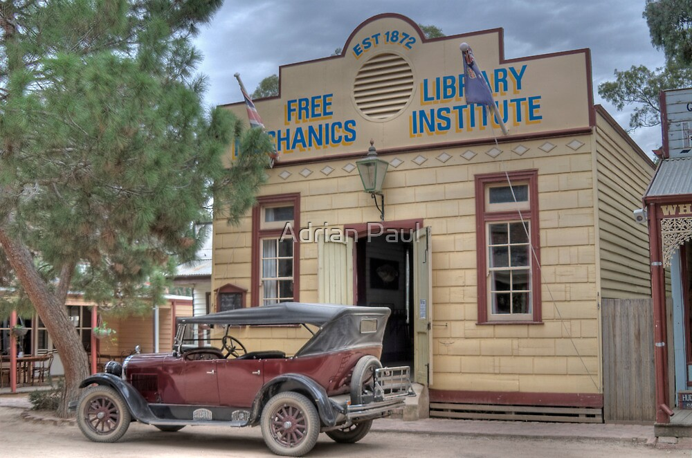 1923 Dodge at Swan Hill Pioneer Settlement , Victoria, Australia (HDR) by Adrian Paul