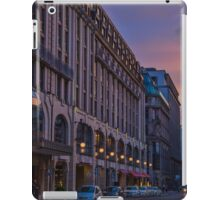 Germany. Berlin. Street Scene. Twilight. iPad Case/Skin