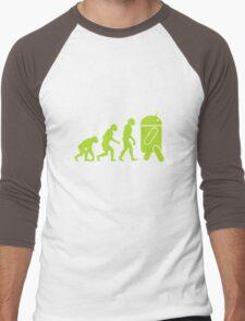Android Evolution Men's Baseball ¾ T-Shirt