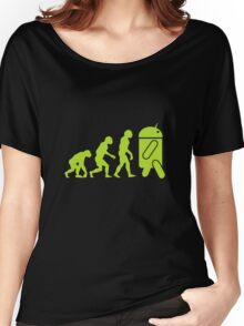 Android Evolution Women's Relaxed Fit T-Shirt