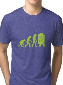 Android Evolution Tri-blend T-Shirt