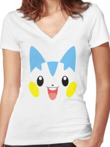 Pokemon - Pachirisu Women's Fitted V-Neck T-Shirt