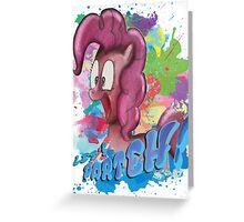 Pinkie Pie SPLAT PARTEH! Greeting Card