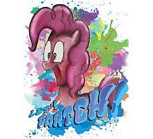 Pinkie Pie SPLAT PARTEH! Photographic Print