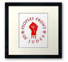 Peoples Front Of Judea T Shirt Shirts Framed Print