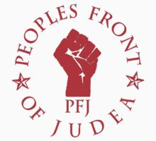 Peoples Front Of Judea T Shirts, Stickers and Other Gifts Monty Python's Kids Clothes
