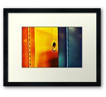 Lab colors Framed Print