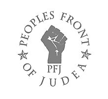 Peoples Front Of Judea T Shirts, Stickers and Other Gifts Monty Python's Photographic Print
