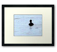 "Gormleys ""Aother Place"" Framed Print"