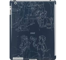 Briggs & Company Patent Transferring Papers Kate Greenaway 1886 0229 Inverted iPad Case/Skin